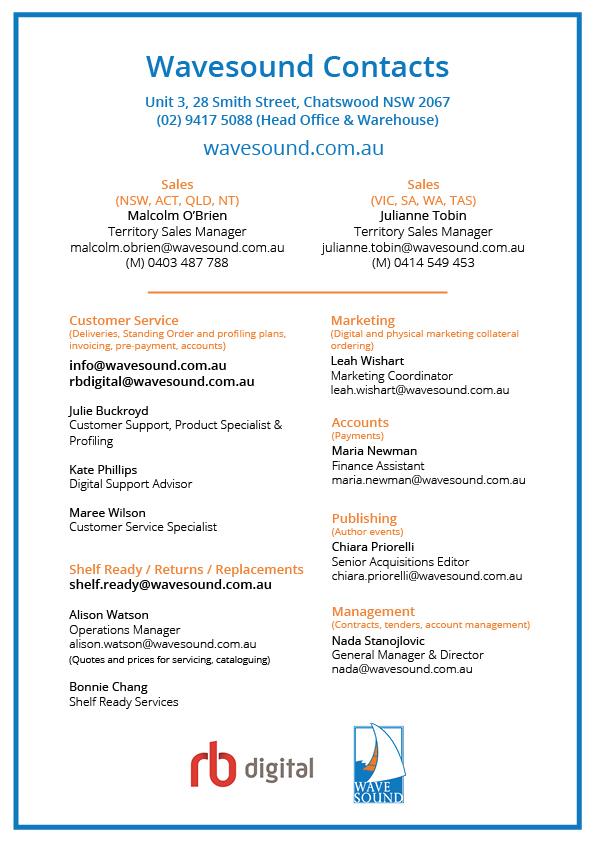 Contact - Wavesound Pty Ltd